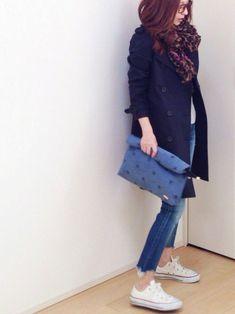 mayumiさんのトレンチコート「STUDIOUS STUDIOUS トレンチコート」を使ったコーディネート
