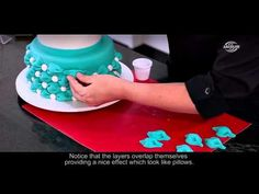 3D Effect with Arcólor® Rolled Fondant - YouTube