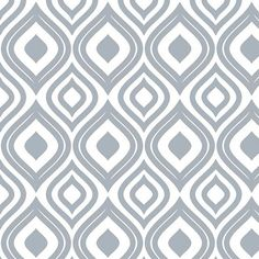 Ikat in Slate Gray Shelf Paper by ChicShelfPaper.com. Premium contact paper.