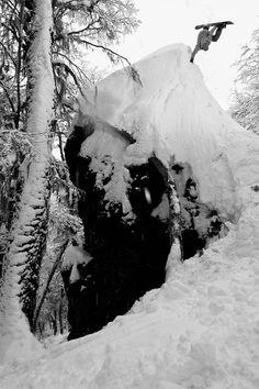 Johnny Aguillera #handplant SASS Argentina 2013 | Photo: Ben Girardi #snowboard #snowboarding #argentina