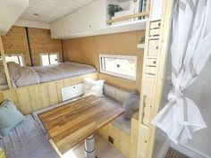caravan renovation ideas 720435271621908908 - Camping Without Showers Source by yvis_k Van Conversion Interior, Camper Van Conversion Diy, Caravan Renovation, Van Home, Campervan Interior, Van Living, House On Wheels, Small Living, Small Spaces