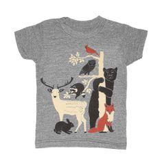 KIDS TODDLER / Forest Friends - T-shirt Boy