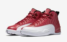 Here Are The Official Images Of The Air Jordan 12 Gym Red