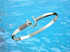 4mm .925 sterling #silver st. #croix #caribbean hook bracelet - size 7.5,  View more on the LINK: http://www.zeppy.io/product/gb/2/291737701056/