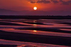 sunset of Matama