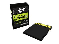 Digi-Chip 64 GO 64GB CLASS 10 SDXC Carte Memoire pour Canon EOS 5D Mark III, EOS 60Da, EOS 650D, EOS M, EOS 6D, EOS 70D, EOS 100D, EOS 700D, EOS 600D, EOS 1100D, EOS 60D and EOS 550D Appareil Photo Numerique SLR