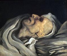 cavetocanvas: Théodore Géricault, After Death, A Study,...
