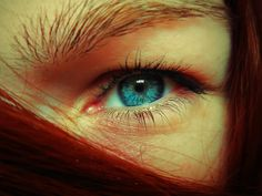 My left eye (toy camera effect, with make-up)