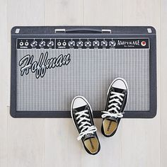 Look what I found at UncommonGoods: Personalized Amp Doormat for $38.00