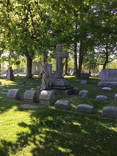 Forest Lawn Cemetery, Buffalo, NY. Listen to our history podcast where we discuss the rural cemetery movement in America. Click through now.
