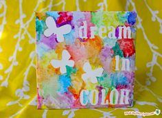 Canvas ideas for birthday party