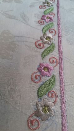 Embroidery Suits Punjabi, Embroidery Suits Design, Hand Work Embroidery, Shirt Embroidery, Hand Embroidery Stitches, Embroidery Fashion, Hand Embroidery Designs, Beaded Embroidery, Sari Blouse Designs