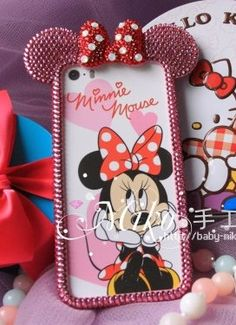 Check out this item in my Etsy shop https://www.etsy.com/listing/196450365/pink-rose-hot-handmade-minnie-mouse