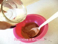 Hidratação para cabelos secos com argila Rosa ( Argiloterapia)   Feminina e Original ♡