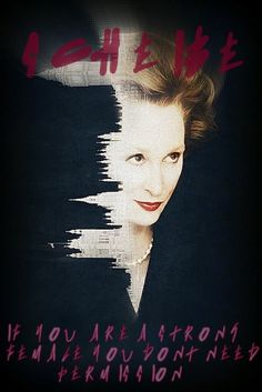 the iron lady/scheibe