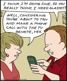 but you can control your TV with a smartphone...