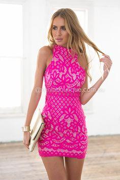 Lovers Lace Dress ▶ ▷▶ Shop It Now ❤ Xenia Boutique xx