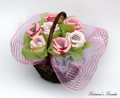 Candy Bouquet Made From Paper Gorgeous Gift by Tatiana's Tienda, $52.00