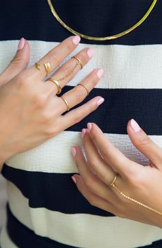 Tune-in to @FYI Style Unzipped to discover the stories behind classic styles like painted nails.