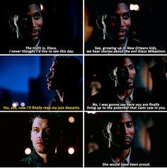 """#TheOriginals 4x09 """"Queen Death"""" - Klaus and Vincent"""