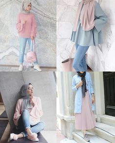 The lid is neutral. It looks pretty there. With that blue jeans again – Hijab + Modern Hijab Fashion, Street Hijab Fashion, Hijab Fashion Inspiration, Muslim Fashion, Look Fashion, Fashion Outfits, Fashion Styles, Fashion Ideas, Casual Hijab Outfit