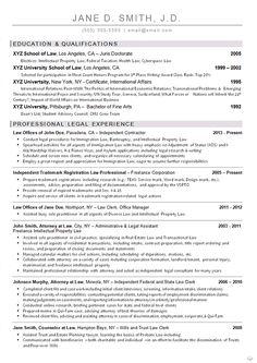 freelance property lawyer resume example senior attorney resume