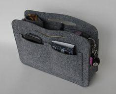 ARSO Taschenorganizer Handtaschenorganizer Taschenorganizer Ordnung Filz Grau in Kleidung & Accessoires, Damentaschen | eBay!