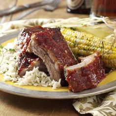 Best Baby-Back Ribs Recipe | Taste of Home Recipes