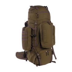 Modular, large capacity backpack for individual combatants on mission for several weeks. The front pocket of the rucksack can be detached and used as a daypack, the side pockets are the same as the TT Tac Pouch 8 SP (item 7773) and can be used on any appropriately designed MOLLE panel. The range shown here is available at authorized dealers. You will find a dealer/store in your area by selecting 'dealers' in the menubar. Prices are object to change, errors and technical changes e...