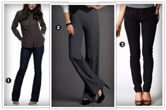 Hourglass Body Shape | Best pants for hourglass body shapes