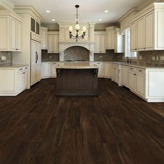 Main living/kitchen flooring TrafficMASTER Allure Ultra Wide in. Southern Hickory Resilient Vinyl Plank Flooring with SimpleFit End Joint sq. / - The Home Depot Grey Wood Floors, Hardwood Floors, Grey Hardwood, Rustic Floors, Farmhouse Flooring, Gray Walls, Vinyl Plank Flooring, Wood Flooring, Flooring Ideas