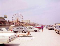 Jacksonville Beach back when I was a kid