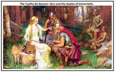 The Tuatha de Danaan: This was a race of Celtic giants and the father gods who were believed to be the ancestors of the Irish Celts.
