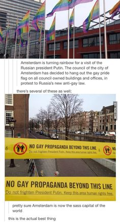 Clearly Amsterdam has some serious balls  I'd like to live in a nation with some balls. isn't it Italy? -.-