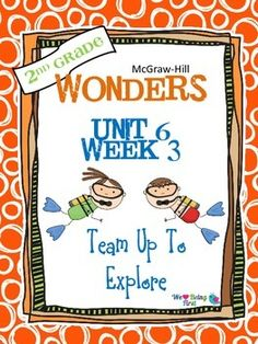If you are already using or you are new to the Wonders Reading Program, this 62 page packet is for you. You'll have help with weekly lesson planning, printables for centers or word work activities, anchor charts, writing activities, high frequency word practice, an abundance of spelling activities, and much, much more.Check the table of contents below to see exactly what is included in the packet.