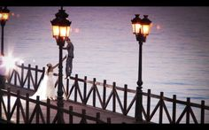 The Marbella Club pier - the perfect location for your wedding day photo shoot.