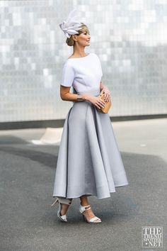 The Best Street Style From Melbourne Cup 2015 - Fashion Trends and Style Blog