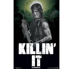 The Walking Dead Poster Daryl Killin' It. Hier bei www.closeup.de