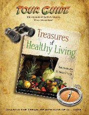 Tour Guide Instruction Manual $14.95 Building upon the message of Annette Reeder and Dr. Richard Couey in the Treasures Of Healthy Living Bible Study, this Tour Guide Instruction Manual will enhance the experience of groups' of all sizes as they delve into the treasure hunt.