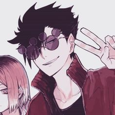 Anime Couples Drawings, Anime Couples Manga, Couple Drawings, Cute Anime Couples, Cute Anime Profile Pictures, Matching Profile Pictures, Aesthetic Eyes, Aesthetic Anime, Haikyuu