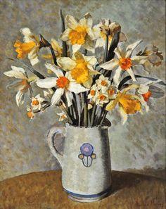 Daffodils - Harold Harvey (1874-1941) - via jane brocket