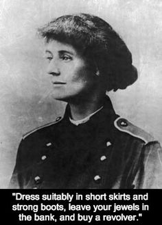 Constance Markievicz- the first woman elected to the House of Commons- on fashion