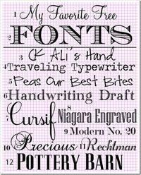 Traveling typewriter Free Fonts
