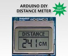 In this Instructable we are going to see how to build a very useful Distance meter with a big Nokia 5110 LCD display using Arduino. Easily measure the distance fr...