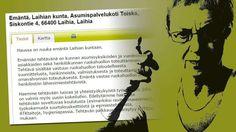 Laihian kunta julkaisi itseironisen työpaikkailmoituksen – mistä tunnistatte aidon nuukan? http://www.iltasanomat.fi/tyoelama/art-2000001123469.html