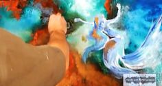 Acrylic Painting Tutorials   Learn How To Paint Abstract Art Paintings by Peter Dranitsin