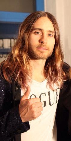 Jared Leto - I just drooled on myself.