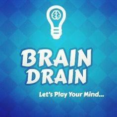 #braindrain amazing brain game for all mind players.. coming soon