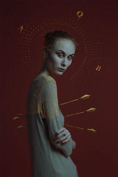 Foam Religion by Alexander Berdin-Lazursky - art - Photo Reference, Art Reference, 3 4 Face, Arte Obscura, Fashion Collage, Dark Art, Art Inspo, Art Direction, Portrait Photography