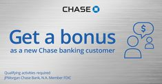 On Pinterest: Open A CHASE Checking Account – Opening BONUS of up to $225